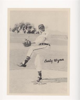1951 Cleveland Indians Picture Pack - [Base] #EAWY - Early Wynn [Poor to Fair]