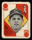 1951 Topps - Red Backs #23 - Ray Boone [GOOD] - Courtesy of COMC.com
