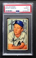 Mickey Mantle [PSA 2.5 GOOD+]