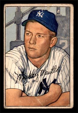 1952 Bowman - [Base] #101 - Mickey Mantle [FAIR]