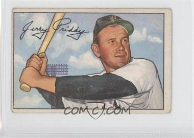 1952 Bowman - [Base] #139 - Jerry Priddy [Good to VG‑EX]
