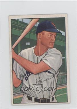 1952 Bowman - [Base] #185 - Ed Stewart