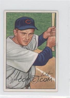 1952 Bowman - [Base] #195 - Frank Baumholtz