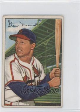1952 Bowman - [Base] #196 - Stan Musial [PoortoFair]