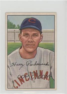 1952 Bowman - [Base] #202 - Harry Perkowski [GoodtoVG‑EX]