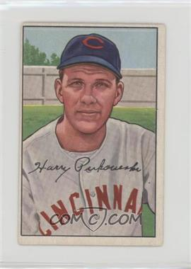 1952 Bowman - [Base] #202 - Harry Perkowski [Good to VG‑EX]