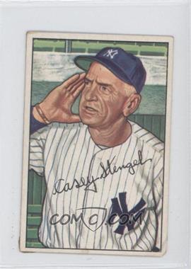 1952 Bowman - [Base] #217 - Casey Stengel