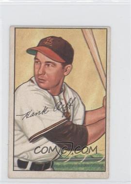 1952 Bowman - [Base] #229 - Hank Arft