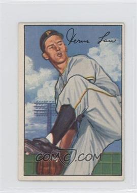 1952 Bowman - [Base] #71 - Vern Law