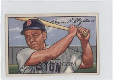 1952 Bowman - [Base] #9 - Vern Stephens