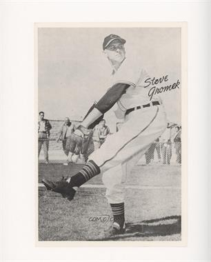 1952 Cleveland Indians Picture Pack - [Base] #STGR - Steve Gromek [Poor to Fair]