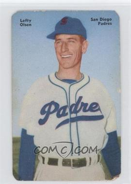 1952 Mother's Cookies Pacific Coast League - Food Issue [Base] #23 - Leonard O'Leary