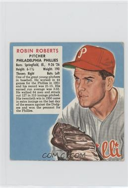1952 Red Man Tobacco All-Star Team - National League Series - Cut Tab #18 - Robin Roberts [Good to VG‑EX]