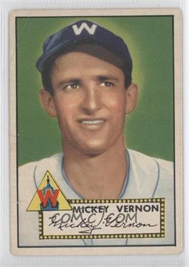 1952 Topps - [Base] #106 - Mickey Vernon [GoodtoVG‑EX]