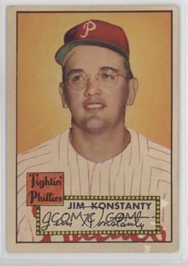 1952 Topps - [Base] #108 - Jim Konstanty [Poor]