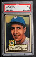 Phil Rizzuto (Red Back) [PSA 3]