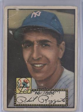 1952 Topps - [Base] #11.2 - Phil Rizzuto (Black Back)