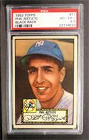 Phil Rizzuto (Black Back) [PSA 4.5]