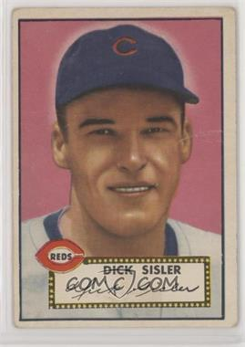 1952 Topps - [Base] #113 - Dick Sisler [Poor to Fair]