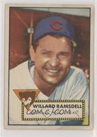 Willie Ramsdell [Good to VG‑EX]
