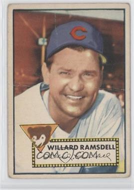 1952 Topps - [Base] #114 - Willie Ramsdell [GoodtoVG‑EX]