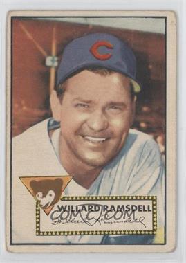 1952 Topps - [Base] #114 - Willie Ramsdell