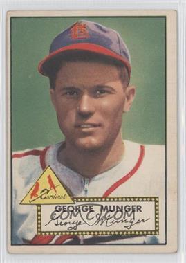 1952 Topps - [Base] #115 - George Munger [GoodtoVG‑EX]