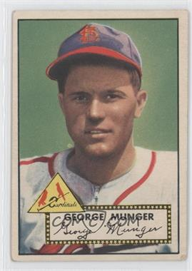 1952 Topps - [Base] #115 - George Munger [Good to VG‑EX]