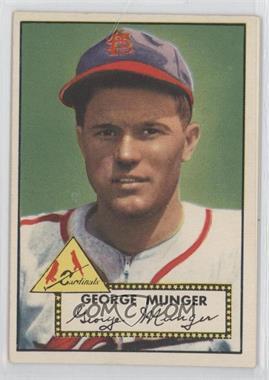 1952 Topps - [Base] #115 - George Munger