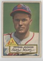 George Munger [Good to VG‑EX]