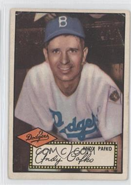 1952 Topps - [Base] #1.2 - Andy Pafko (Black Back) [Good to VG‑EX]