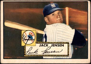 1952 Topps - [Base] #122 - Jackie Jensen [GOOD]