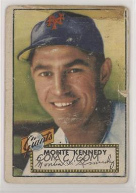 1952 Topps - [Base] #124 - Monte Kennedy [Poor]