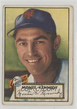 1952 Topps - [Base] #124 - Monte Kennedy [PoortoFair]