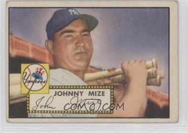 1952 Topps - [Base] #129 - Johnny Mize [GoodtoVG‑EX]