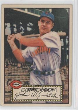 1952 Topps - [Base] #13.1 - Johnny Wyrostek (Red Back)