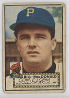 Bill MacDonald [Poor]