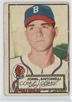 Johnny Antonelli [Poor]