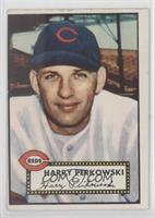 Harry Perkowski (White Back) [GoodtoVG‑EX]