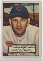 Harry Perkowski (White Back)
