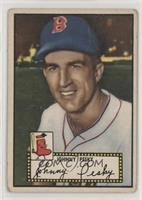 Johnny Pesky (Black Back) [Poor to Fair]