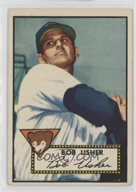 1952 Topps - [Base] #157 - Bob Usher