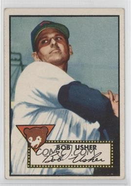 1952 Topps - [Base] #157 - Bob Usher [Good to VG‑EX]