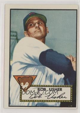 1952 Topps - [Base] #157.1 - Bob Usher (White Back)