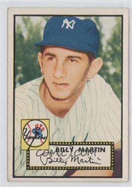 1952 Topps - [Base] #175 - Billy Martin
