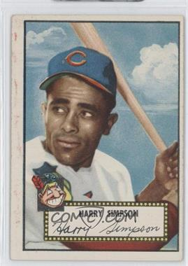 1952 Topps - [Base] #193 - Harry Simpson