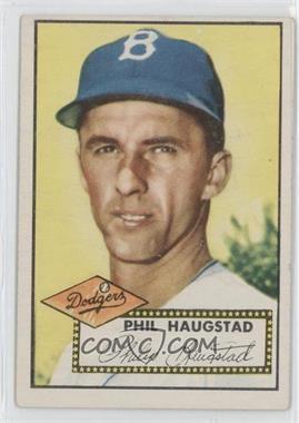 1952 Topps - [Base] #198 - Phil Haugstad