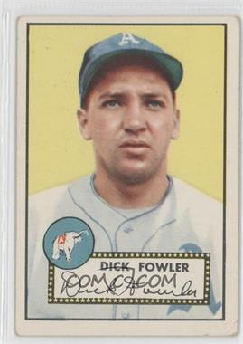 1952 Topps - [Base] #210 - Dick Fowler [NoneGoodtoVG‑EX]