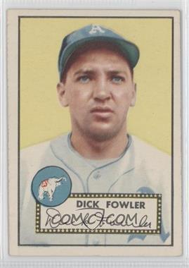 1952 Topps - [Base] #210 - Dick Fowler