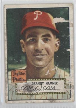 1952 Topps - [Base] #221 - Granny Hamner